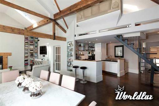 Modern Home Painting Styles: Elegancki Apartament W Londynie