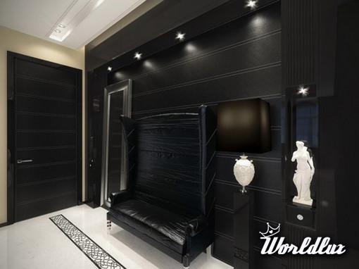 Nowoczesny apartament w stylu glamour