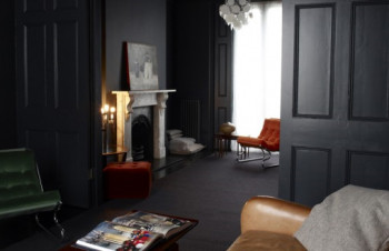Apartament w ciemnych kolorach 13