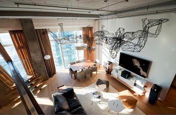 Apartament w Moskie z zachwycającym widokiem na miasto