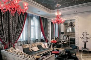 Apartament w stylu glamour  3