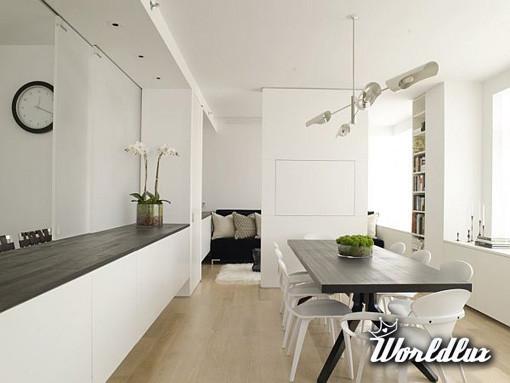 Camera Da Letto Quale Colore : Gustowne mieszkanie w tym wnętrzu postawiono na czarno