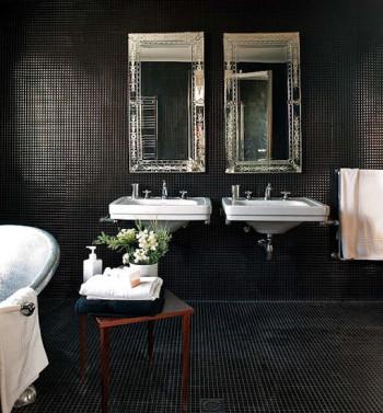 Ciemniejsza strona łazienki