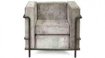 Concrete Chair 2