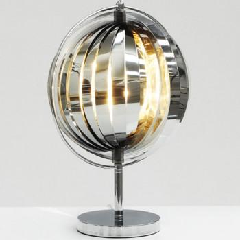 Designerska lampa w kształcie globusa