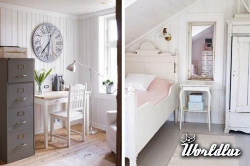Dom w romantycznym stylu 7