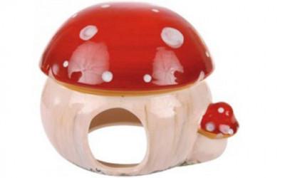 Domek ceramiczny dla gryzoni Zolux muchomor