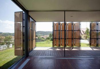 Drewniana rezydencja w Czechach