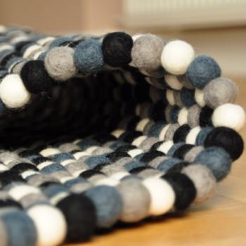 Dywany z filcowej wełny