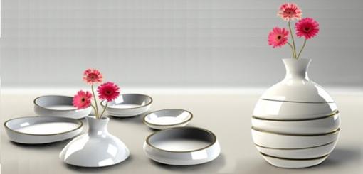 eva-Vase od  Inon Retting 2