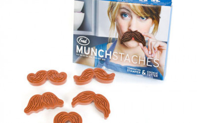 Fred Munchstache Cookie Cutters
