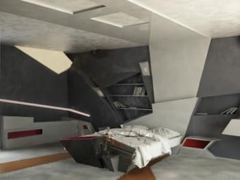 futurystyczny apartament 2