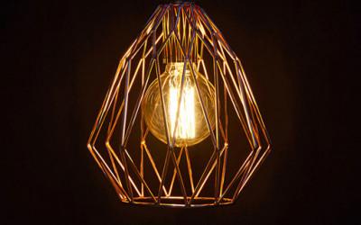 Geometryczna lampa Paral Kokoon Design