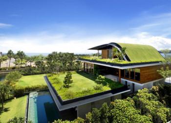Imponujący ogród na dachu
