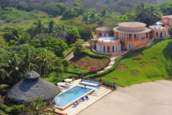 Imponujący ośrodek wypoczynkowy w Meksyku