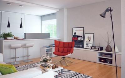 Kolorowe punkty w całym domu - pomysły na dekorację