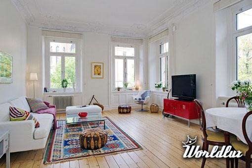 Przytulny Kolorowy Apartament Prezentowany Apartament