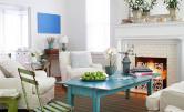 Kolorowy stół w roli głównej