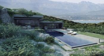 Korsykańskie wille z widokiem na morze i góry - absolutnie zachwycające