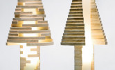 Kreatywna lampa Babele