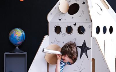 Kreatywne zabawki z kartonu