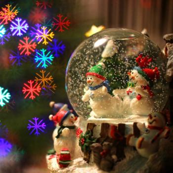 Kule śnieżne czyli obowiązkowe dekoracje Świąteczne