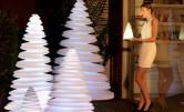 Lampa Chrismy w kształcie choinki