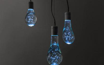 Lampki niczym balony wodne