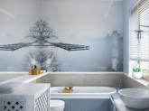 Łazienka w stylu Hampton