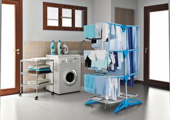 Lekkie i niewielkie suszarki do prania od Meliconi