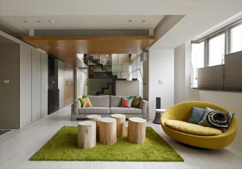 Luksusowy minimalizm w apartamencie