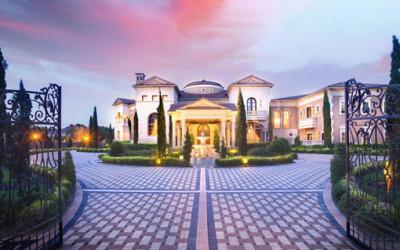 Luksusowy pałac Palm Royale