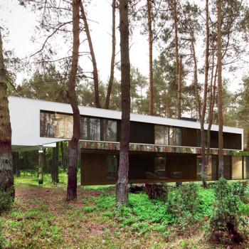Lustrzany dom