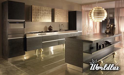 Kuchnia glamour od Must Italia  Kolekcja kuchni Unyca od