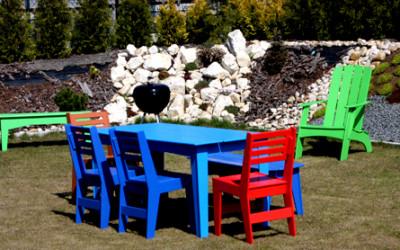 Niezniszczalne krzesło ogrodowe SloDesign
