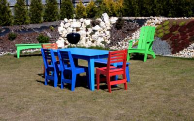 Niezniszczalne meble ogrodowe od SLO Design