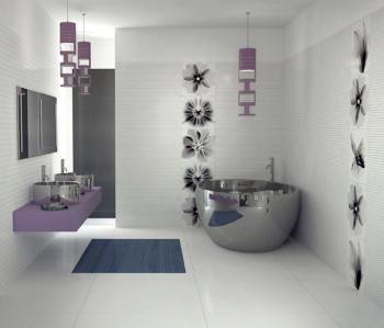 Niezwykły projekt łazienki wg Viva Ceramica