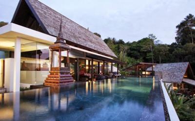 Nowoczesna willa w Tajlandii