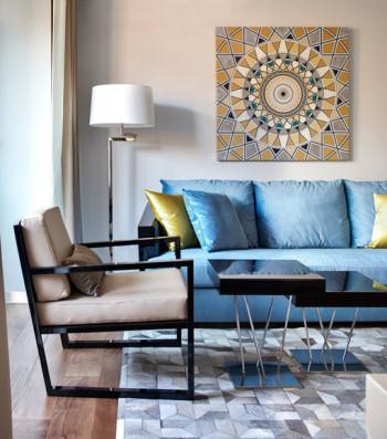 Nowoczesny apartament naznaczony otwartością, elegancją i klasą