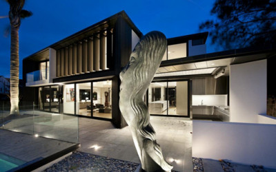 Nowoczesny dom eleganckiego mężczyzny
