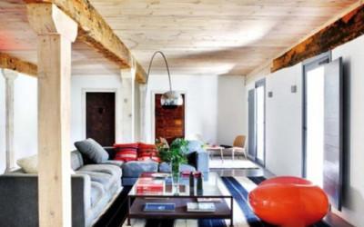 nowoczesny, rustykalny dom 1