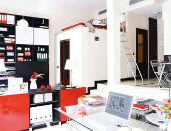 Odważne i stylowe mieszkanie