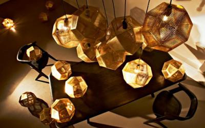 Oświetlenie według architekta Tom Dixon