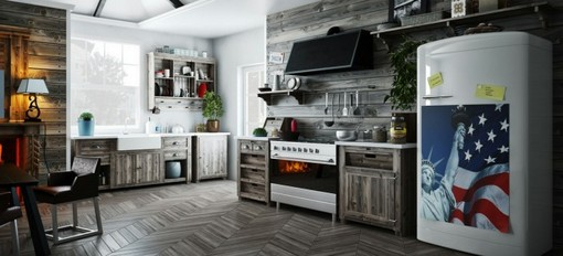 Otwarta kuchnia - pomysły na aranżację