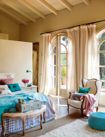 Piękna sypialnia wg projektu Eduardo Arruga