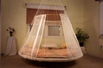Pływające łóżka - kto chętny?