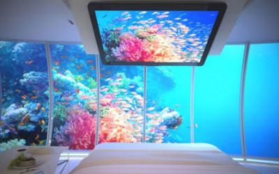 Podwodny hotel w Dubaju