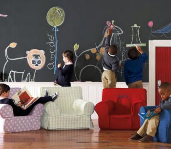 Pokoje dla dzieci – malowanie na ścianie.