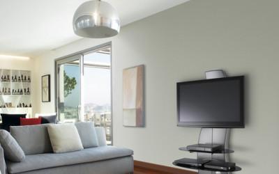 Półka pod TV maskująca kable