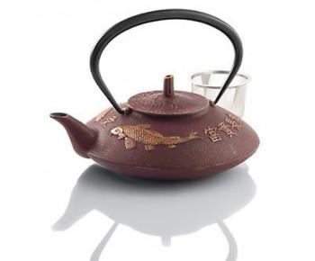 Prosperity Koi Cast Iron Teapot
